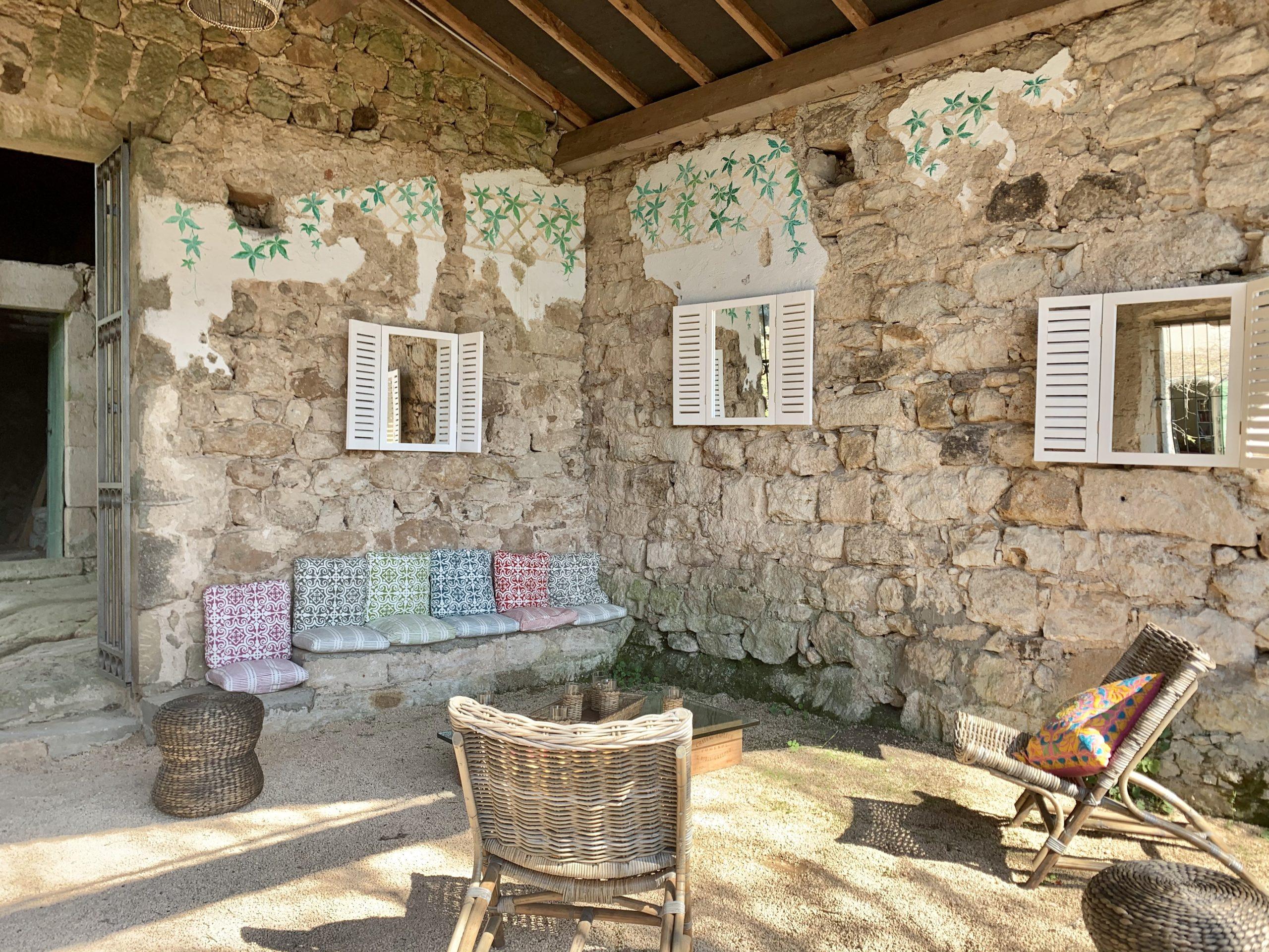 Chambres et table d'hôte en Ardèche. Parc régional des Monts d'ardèche, Largentière, Vallon Pont d'arc, Vogue
