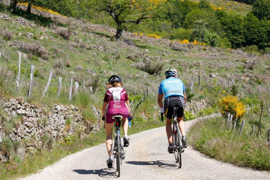 séjours randonnée vélo en Ardèche
